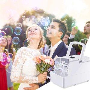 折后€21.8 快来抓泡泡闪购:Geediar 自动泡泡机热促 开启梦幻泡泡派对