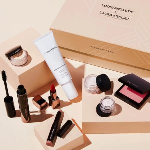 变相3.9折 仅€60收(价值超€155)随时消失:LF X Laura Mercier 限定美妆礼盒 明星散粉、腮红等8件