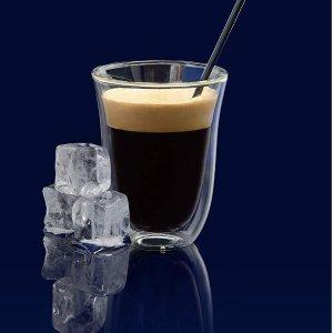 $10 (原价$19.99) 史低补货:De'Longhi 德龙双层保温咖啡杯 2件套