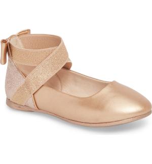 $25.90 尺寸全,大童号也有Kenneth Cole Kenneth Cole 芭蕾鞋女童鞋