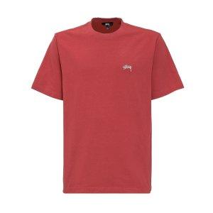 StussyStock Logo Crewneck T-Shirt