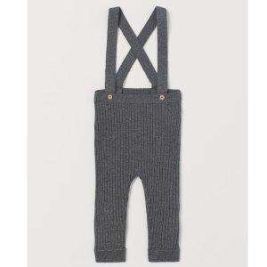 收超可爱背带裤小袜子小帽子各种小啦HM 宝宝专区 满€100打9折 满€200打8折 需用码