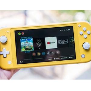 折后201欧 更轻更便宜更方便携带超萌的柠檬黄油色switch lite 更轻便 一眼就知道是我想要的游戏机