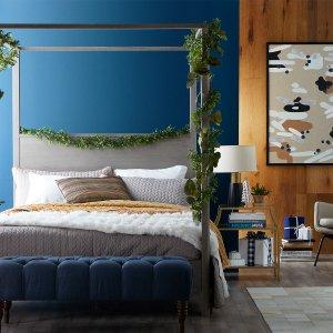 低至5折Hayneedle 精选卧室家具、床品及装饰热卖