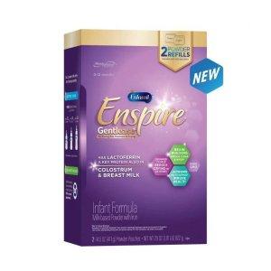 Enfamil买2送$10礼卡Enspire 防胀气奶粉补充装 29oz