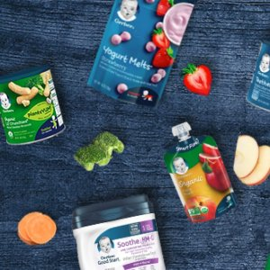 Up to 20% Off Gerber Baby Food @ Amazon