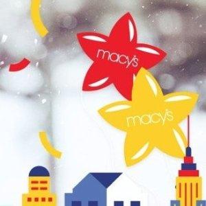 上新:Macy's 2019节日套装上新汇总 持续更新