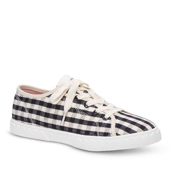 格纹休闲鞋