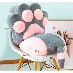 70x35cm猫爪坐垫靠垫一体