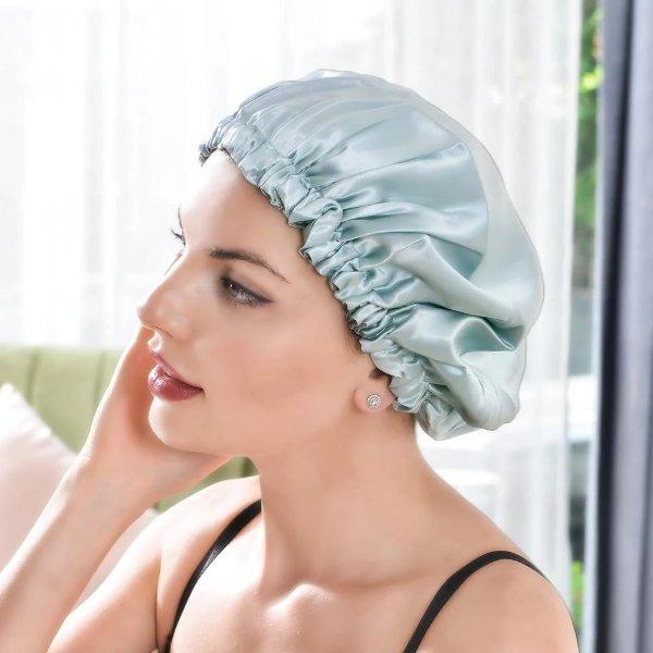 玻尿酸双层睡帽