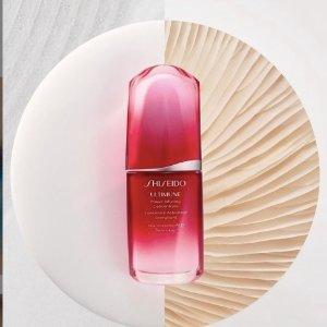 5折+折上9折 €48收50ml!霸哥价:Shiseido 资生堂红腰子50ml比30ml还便宜!修护保障绝绝子!