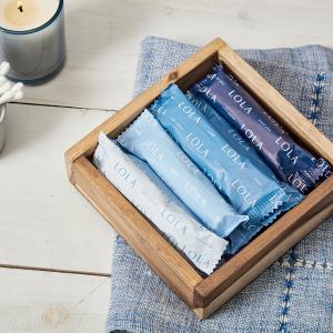 新用户7.5折+ 包邮LOLA 全棉女性经期用品 每月量身制定