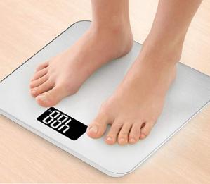$19.99(原价$44.99)Smart Weigh 钢化玻璃电子体重秤