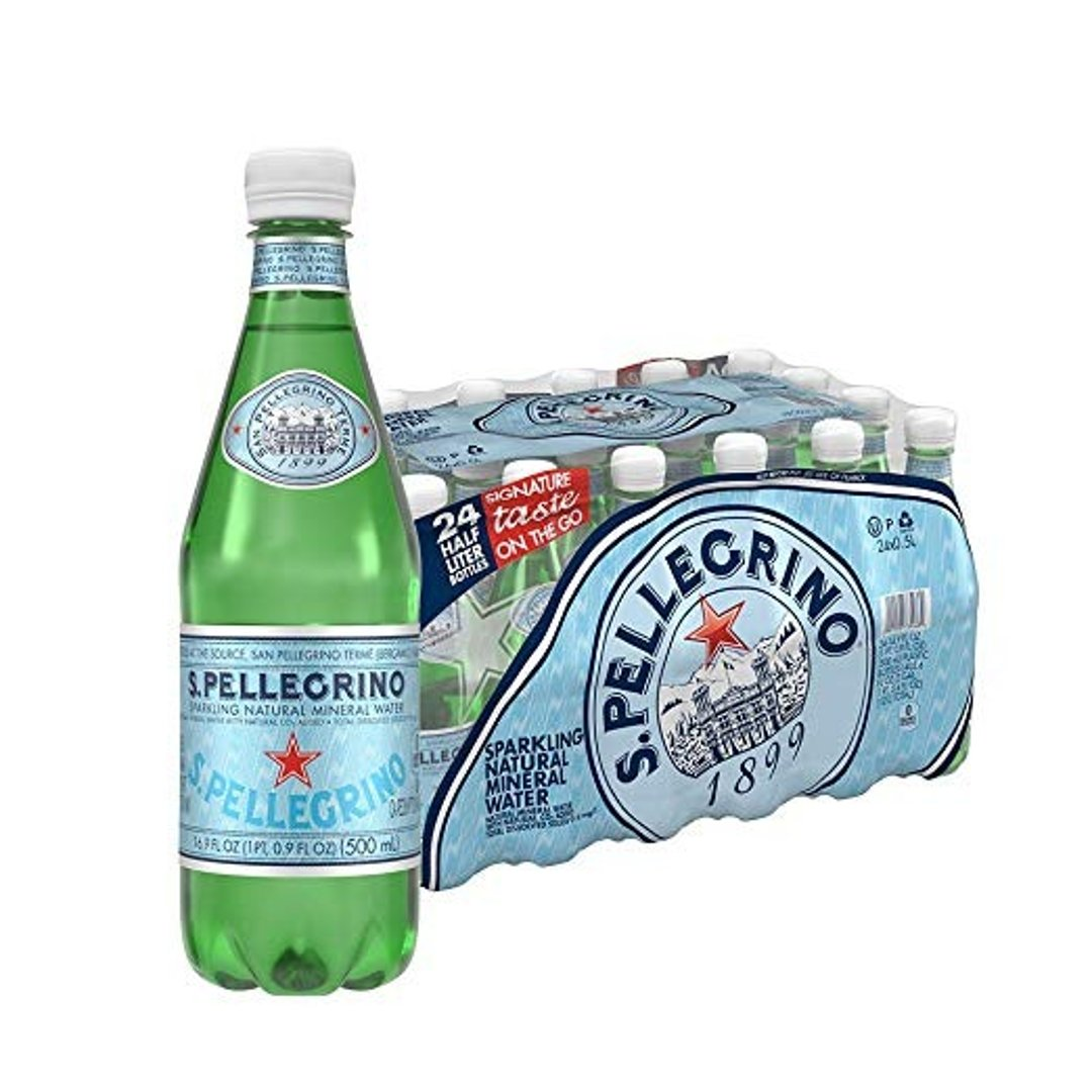 S.Pellegrino 圣培露意大利气泡矿泉水 16.9oz. 24瓶