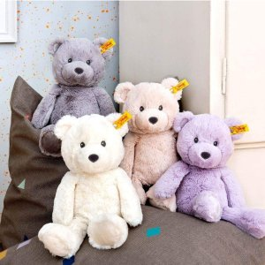 28cm灰熊仅€23 原价€29.9Steiff 毛绒玩具 收经典泰迪熊、小兔子、网红小猪和小羊