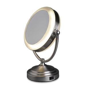 $31.99Rialto 8X/1X Daylight Cosmetic Vanity Mirror @ Bed Bath and Beyond