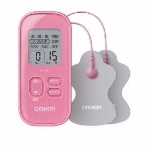 双12价¥299OMRON 欧姆龙 温热低周波脉冲便携按摩仪F021 粉色