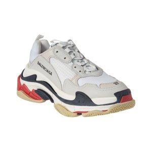 BalenciagaTriple S Leather Sneaker