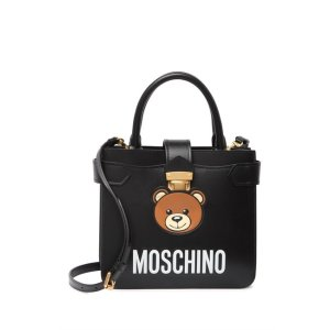 MoschinoTeddy Bear Leather Satchel