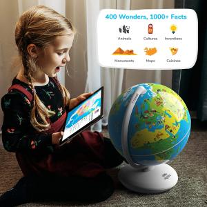 $53.99(原价$62.85)Shifu 儿童互动地球仪 宅家的环球探险之旅