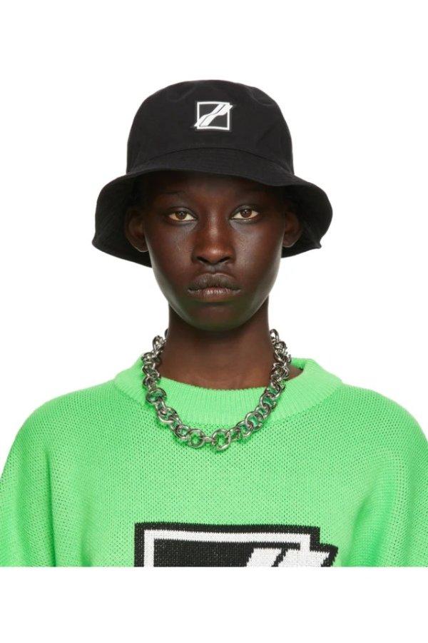 Black Square Logo 渔夫帽