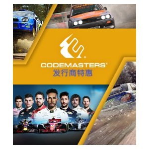 Up to 90% OffCodemasters Software Publisher Sale @ Steam