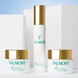 最高送$700礼卡最后一天:Valmont 美妆护肤品促销 入幸福面膜