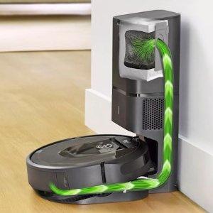 $849.99(官网$999.99)iRobot i7+顶配扫地机 语音声控 自清空 有宠家庭选它