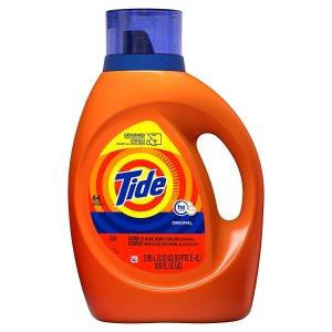 $9.97Tide HE Turbo Clean Liquid Laundry Detergent,