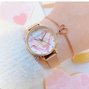 低至5折 £35收小雏菊手链Olivia Burton 精选腕表、配饰热促 英伦风的优雅 仙女最爱