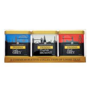 伦敦红白蓝罐茶