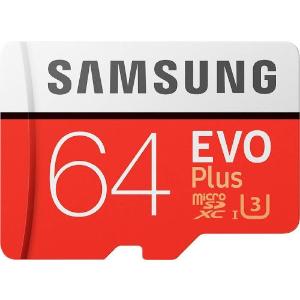 $12.8Samsung EVO Plus 64GB MicroSDXC Card @ Google Express