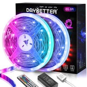 7折限今天:Daybetter LED 灯带促销 装饰墙壁必备氛围灯