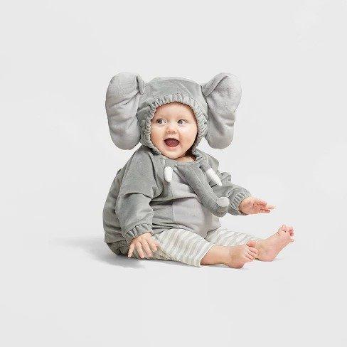 小宝宝大象服饰