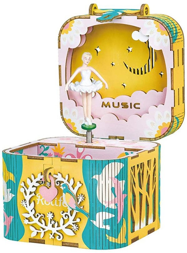 跳芭蕾的小姑娘音乐盒