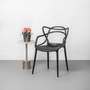 MASTERS 设计师餐椅 黑色
