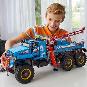 现价£149.99(原价£219.99)LEGO 乐高 科技系列 42070 遥控 六驱全地形卡车