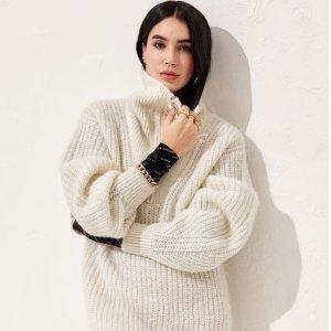 低至3折+额外8.5折H&M 折扣区保暖毛衣特价热卖