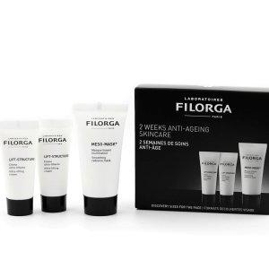 变相1.6折 现仅$9.3(价值$58)逆天价:Filorga 超值护肤套装 含十全大补面膜、提拉面霜