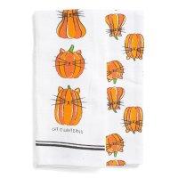猫样的南瓜厨用毛巾2条