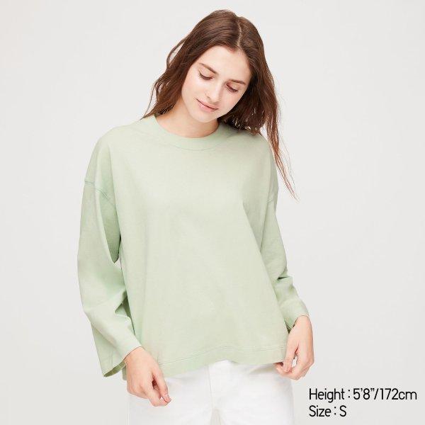 奶油绿 卫衣 多色可选