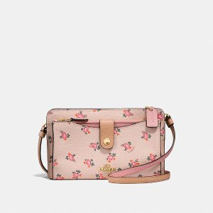 Noa Pop-Up Messenger With Floral Bloom Print | COACH