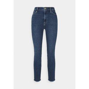 Frame Denim蓝色牛仔裤