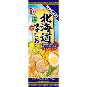北海道柚子盐香拉面 2人份