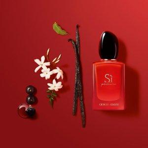 变相6.5折+送6件套Armani 节日香水礼盒 新白花、经典红Si 送给你最爱的人