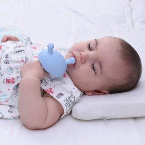 $10.95(原价$12.89)Mombella 迷你蘑菇舒缓牙胶 满足婴儿吮吸需求又可缓解长牙痛