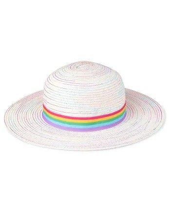 彩虹太阳帽