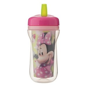 $4The First Years Insulated Straw Cup, Disney Minnie Mouse, 9 Ounce @ Amazon