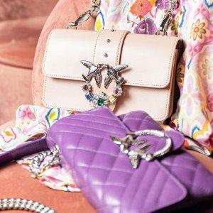 8折 超多夏日颜色可选Pinko 意大利美包限时闪促 收怎么看都看不腻的燕子包