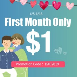 $1 for first monthiTalkBB exclusive CNY deal